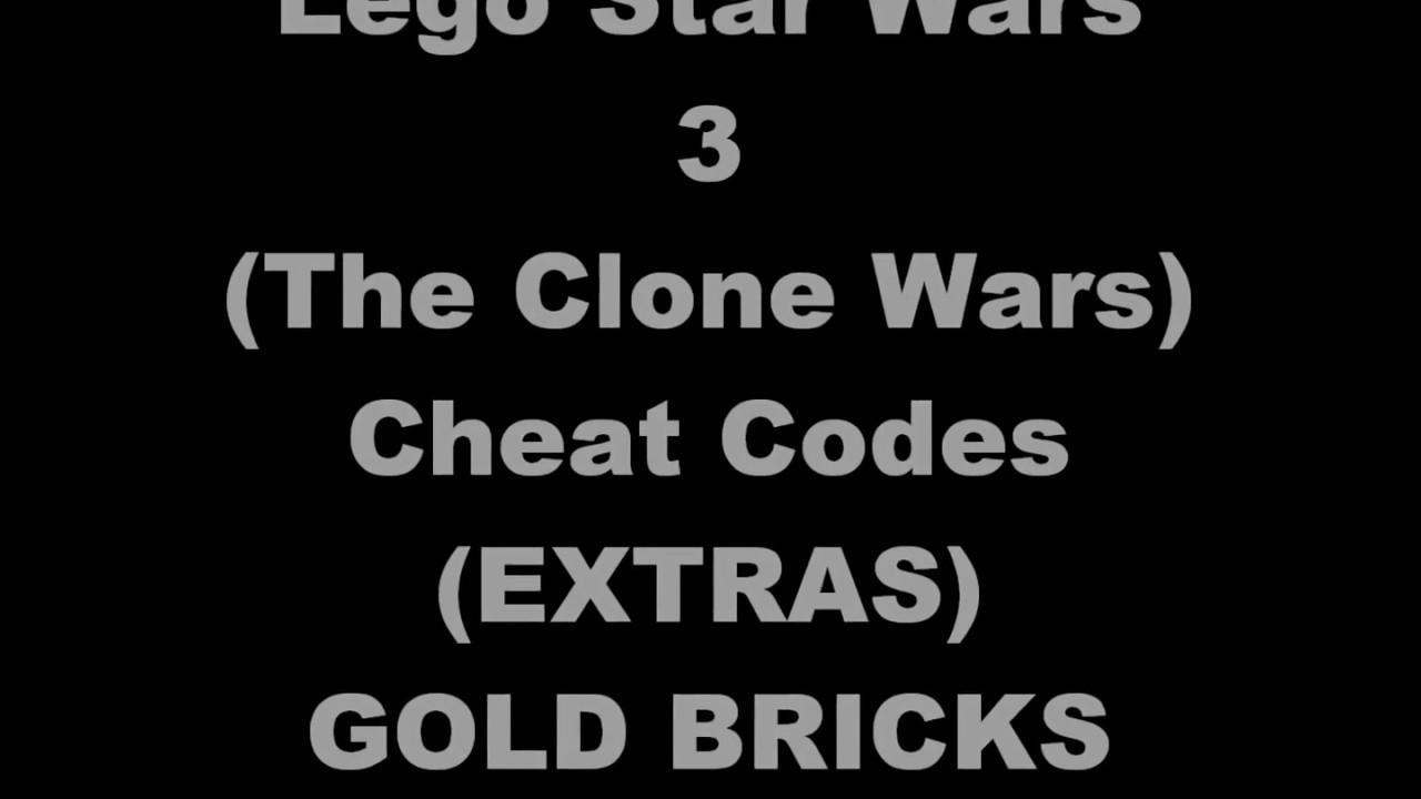<b>Lego Star Wars III</b> The Clone <b>Wars Cheat Codes</b> (EXTRAS) - YouTube