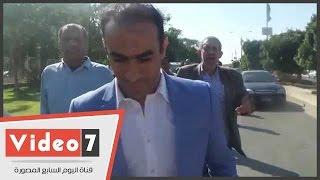 """عبدالحفيظ يرفض التعليق على أزمة """"متعب""""..والإعلاميين والجمهور يطاردونه"""