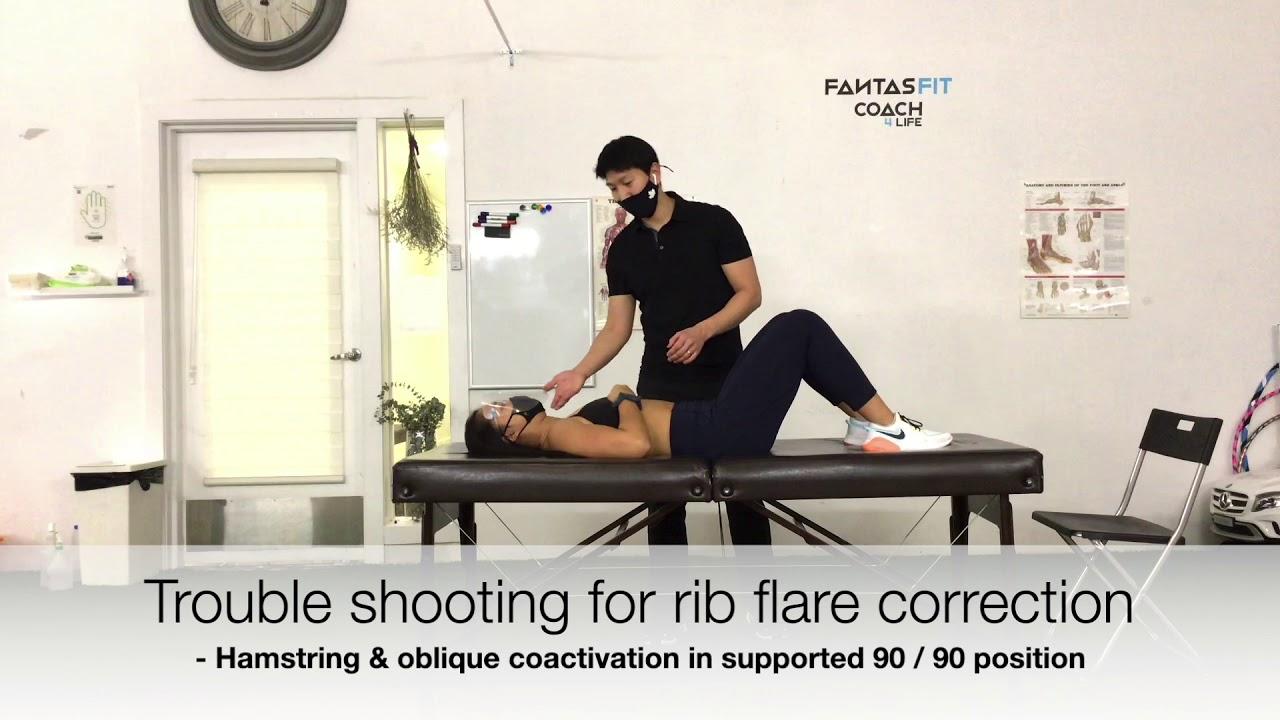 How to overcome rib-flare to rebalance breathing mechanics