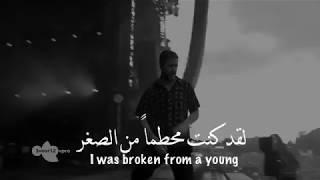 لقد كنت محطماً من الصغر - اغنية اجنبية مترجمة عربي   حالات واتس اب