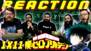 "My Hero Academia [English Dub] 1x11 REACTION!! ""Game Over"""