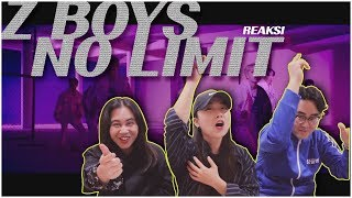 [REAKSI] K-POP VOCAL TRAINER JEESUN Z-BOYS 'No Limit' M/V [SUB : IDN, KOR]
