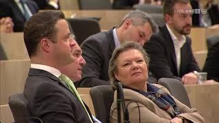 Nationalratssondersitzung vom 19. März 2018 | ORF