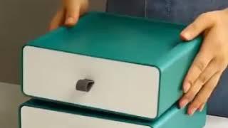 실리콘그립 적층서랍 생활용품 사무용품 서랍수납장 사무실…