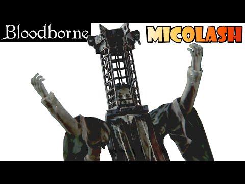 Bloodborne guia: MICOLASH, HUESPED DE LA PESADILLA (de Mensis) - Un boss LOCO y FACILÓN! EP.21