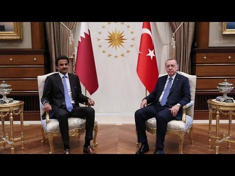 أمير قطر في تركيا واستثمارات بقيمة 15 مليار دولار  - نشر قبل 5 ساعة