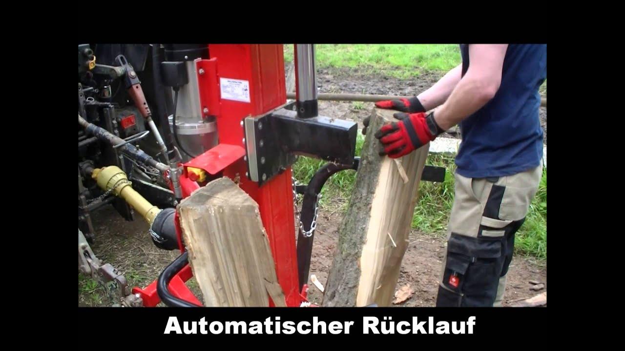 Gemeinsame Hochprofessioneller Holzspalter Zapfwelle. Robuster und &UD_07