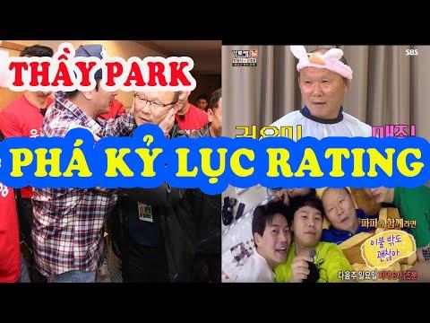 HLV Park Hang-seo liên tục PHÁ KỶ LỤC rating các show truyền hình Hàn Quốc