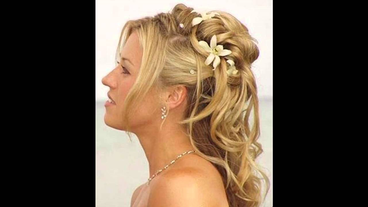 partial updo wedding hairstyles - partial updos for weddings : updos & styling hair