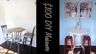 Diy $100 Contemporary Dining Room Makeover!