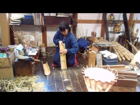 Making Art from Bamboo in Japan!