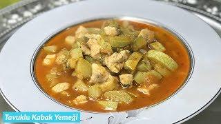 Tavuklu Sulu Kabak Yemeği - Naciye Kesici - Yemek Tarifleri