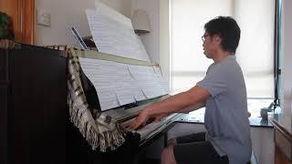 Franck: Violin Sonata - 4th Movement - Piano Part [Fast Tempo]