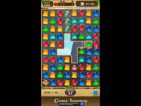 Gems Journey Level 1-5
