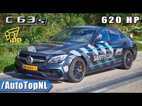 620HP C63 S AMG   F1 SAFETY CAR   INSANELY LOUD! iPE EXHAUST by AutoTopNL
