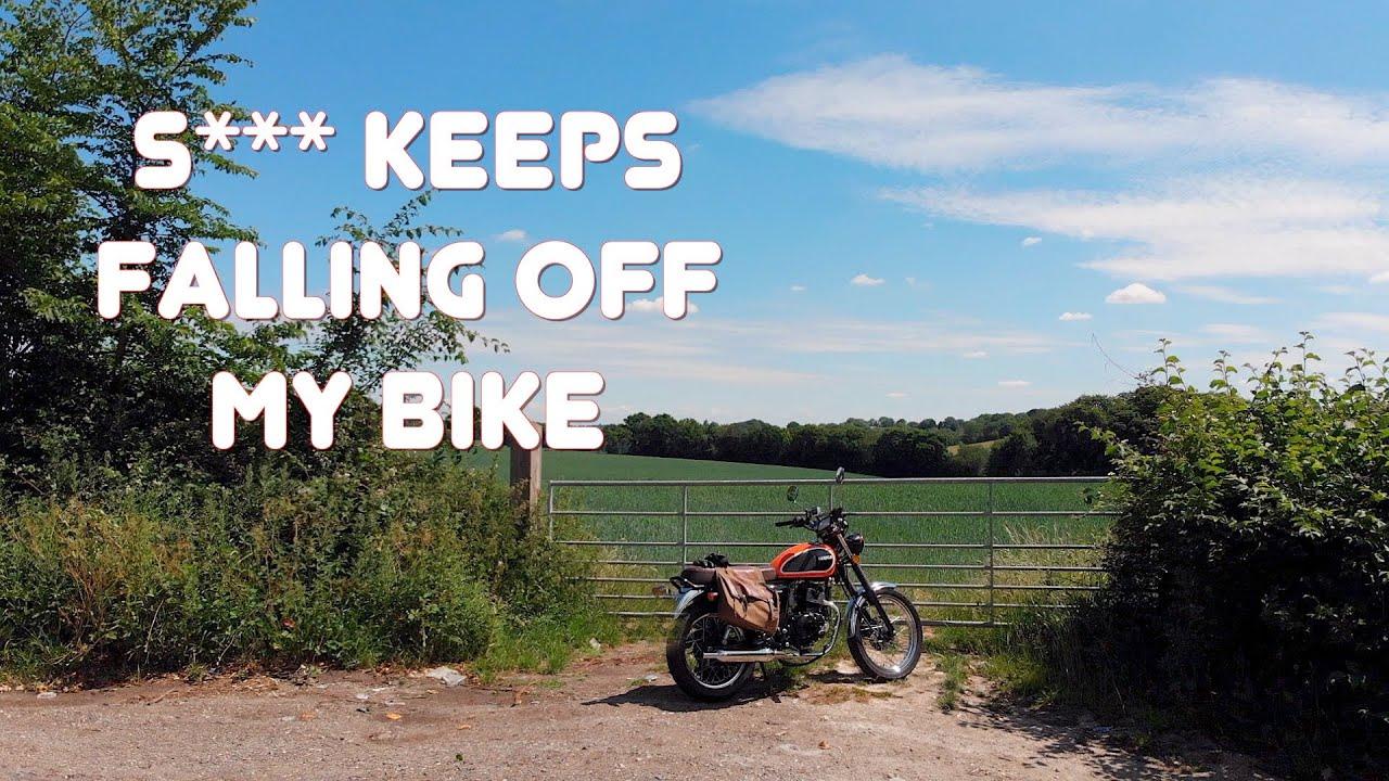 S*** keeps falling off my bike! Tales of my Herald 125 Classic
