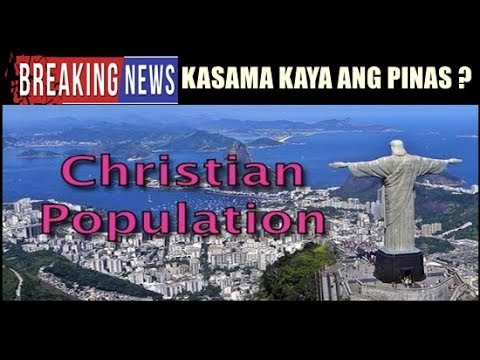 TOP COUNTRIES WITH HIGHEST CHRISTIAN POPULATION PANG ILAN - Top 10 religion population in world