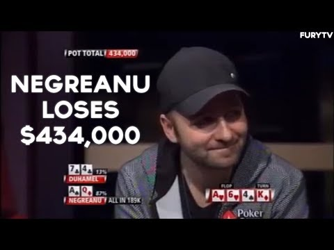 Daniel Negreanu Gets MAD And Throws Poker Chips Over Table!