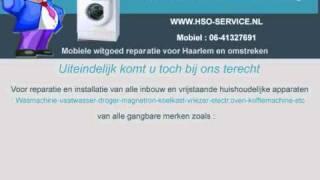 Haarlemse Service Onderneming - HSO -  witgoed reparatie en installatie