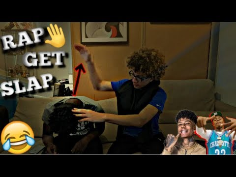 IF YOU RAP YOU GET SLAPPED!! 😭👋🏼 (GETS HEATED)