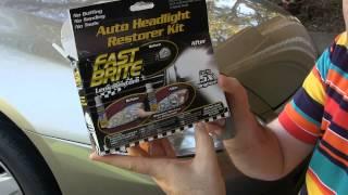 Fast Brite Headlight Restorer- As Seen On TV- EpicReviewGuys