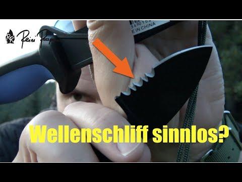 Wellenschliff für Survivalmesser?