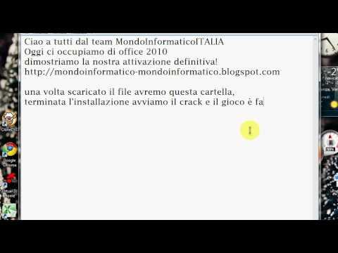 OFFICE 2010 ITA ATTIVAZIONE DEFINITIVA!!!!!!