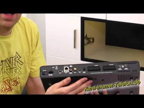 Unboxing Kabel Deutschland HD DVR XL (Digitaler Videorekorder Sagemcom RCI88-1000 KDG)