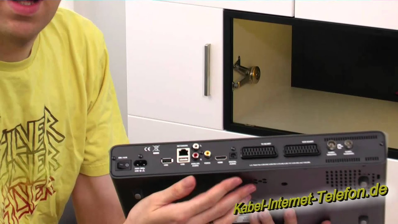 unboxing kabel deutschland hd dvr xl digitaler. Black Bedroom Furniture Sets. Home Design Ideas