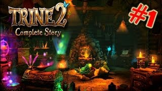 Trine 2 : Complete Story Gameplay/Walkthrough Part 1 The Story Begins (PS4)