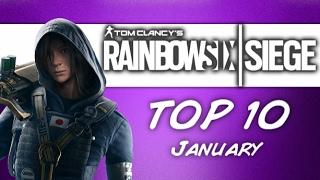 Rainbow 6 Siege Top 10 Clips Rainbow Boys - January 2017