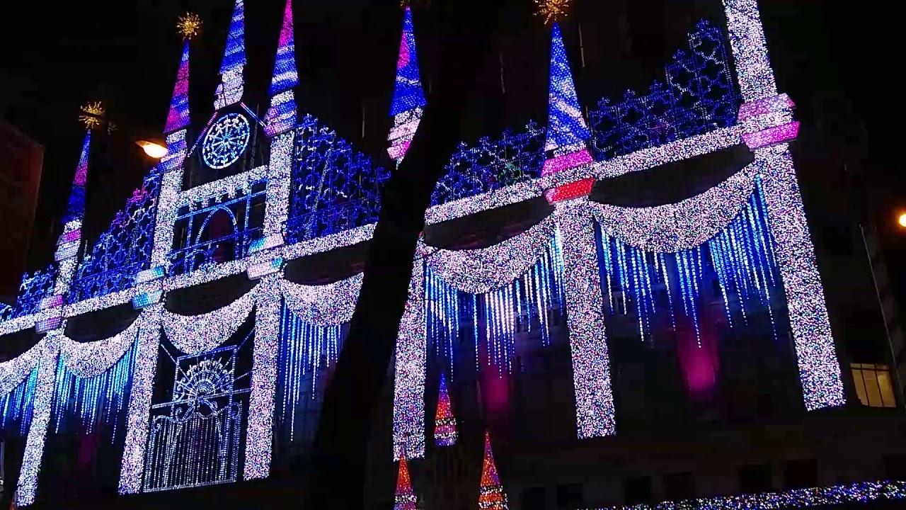 Saks Fifth Avenue Light Show 2017 Saks Fifth Avenue Christmas Light Show  New York City .