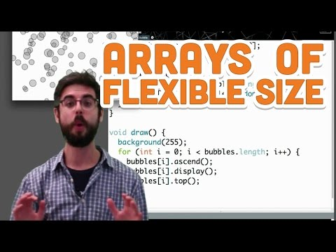 Download Youtube: 9.5: Arrays of Flexible Size - Processing Tutorial