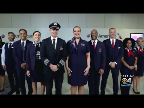American Airlines Employees Get New Uniforms