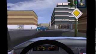 3D Driving School little gameplay