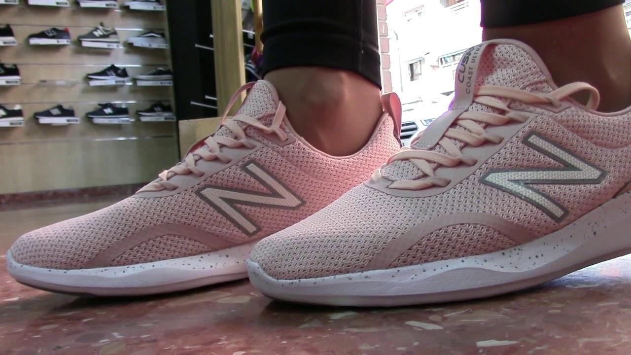 New Balance Running Mujer Coast - New Balance Rosas Valencia