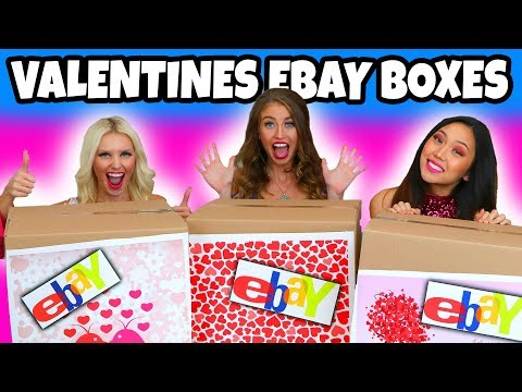 Valentines Ebay Mystery Boxes. Totally TV