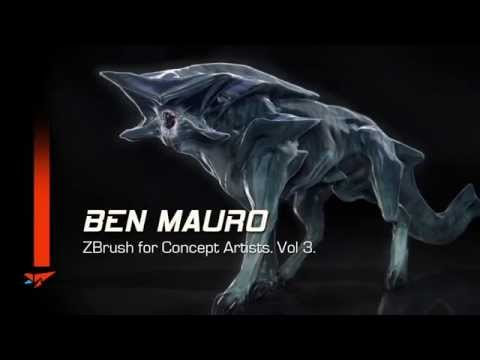 CDW Studios - Ben Mauro. Zbrush For Concept Artists. Vol 3. Sample