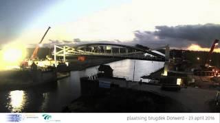 Time lapse brugdek Dorkwerd