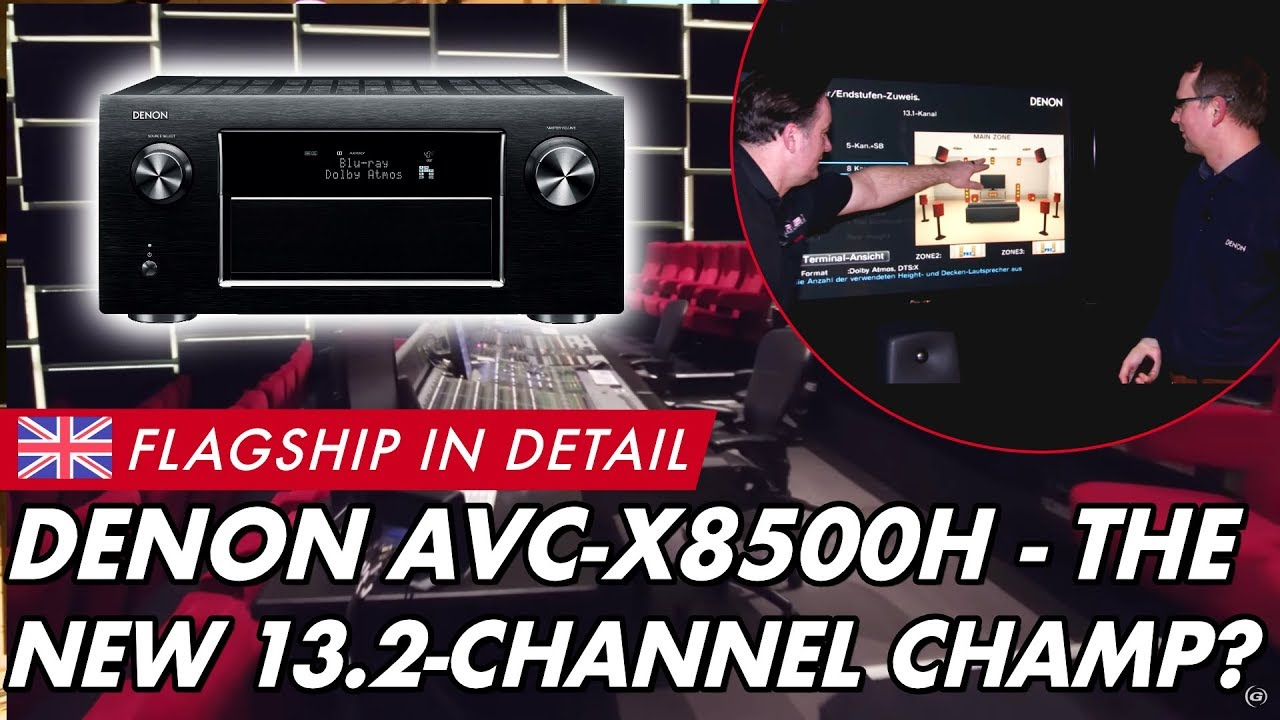 The *OFFICIAL* Denon AVR-X8500H 13 2ch Flagship AVR Thread - AVS