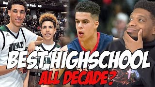 Who Was The BEST High School Squad of The DECADE!?