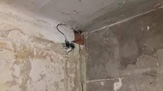 Ремонт санузла(ванная) Харьков 3.7м2 12.03.2019 (было)