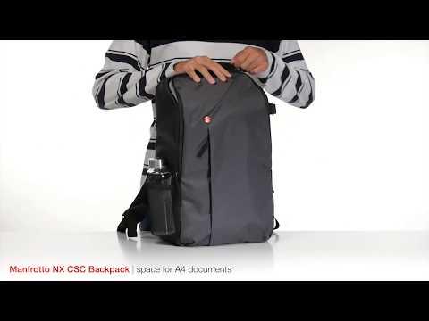☆相機王☆Manfrotto NX CSC Camera Backpack 開拓者微單眼後背包 深灰色 (5)