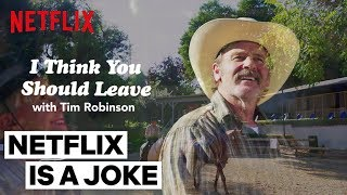 "Tim Robinson\'s ""Fenton\'s Horse Ranch"" Sketch 