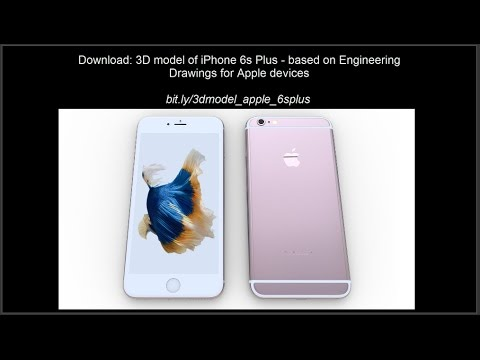 iphone 6s plus models 3d model of iphone 6s plus based on engineering 15143