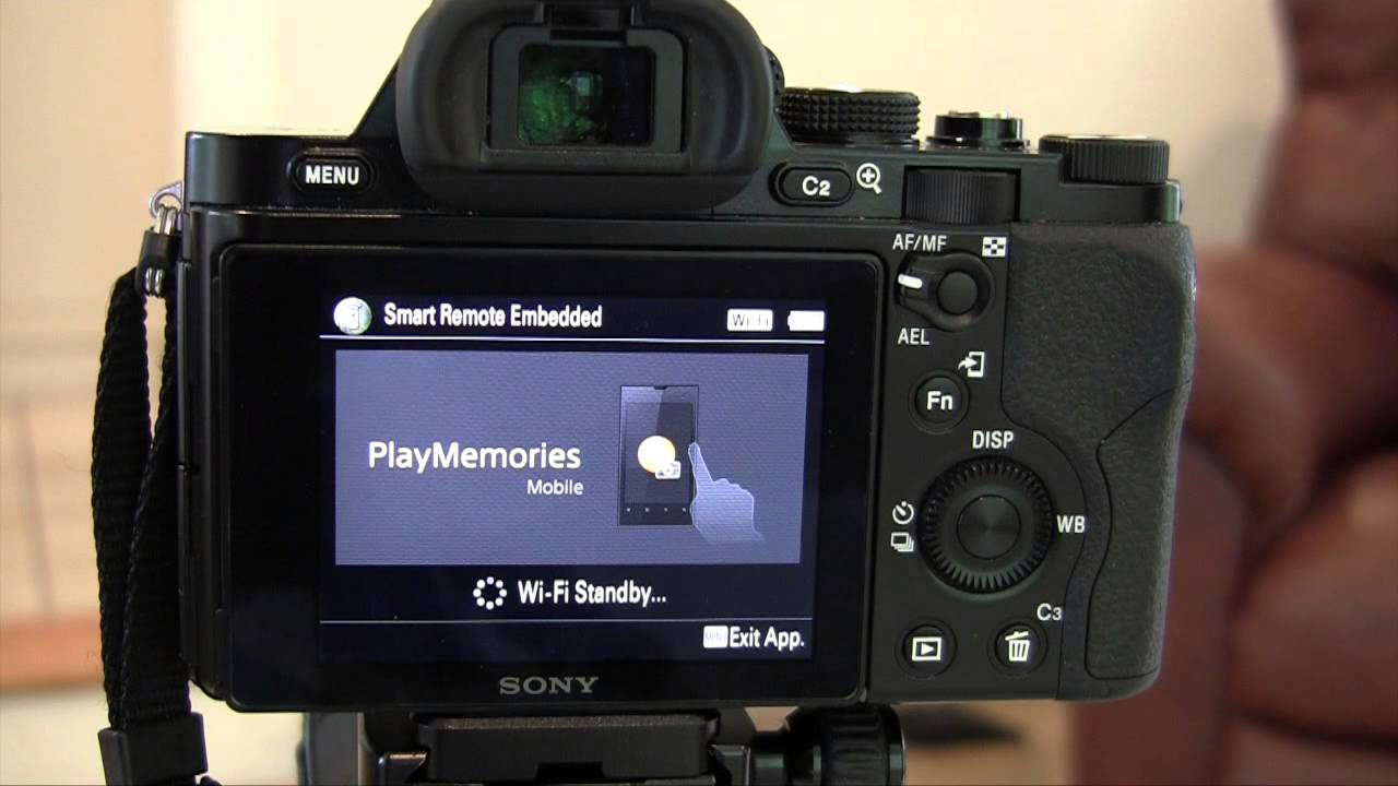 How to use your iPad to Remote Control your Sony A7 Camera