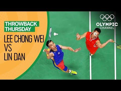 Badminton Semi-Finals: Lee Chong Wei vs Lin Dan - Rio 2016 FULL Replay | Throwback Thursday
