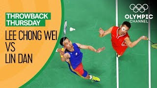 Badminton Semi Finals Lee Chong Wei Vs Lin Dan   Rio 2016 FULL Replay  Throwback Thursday