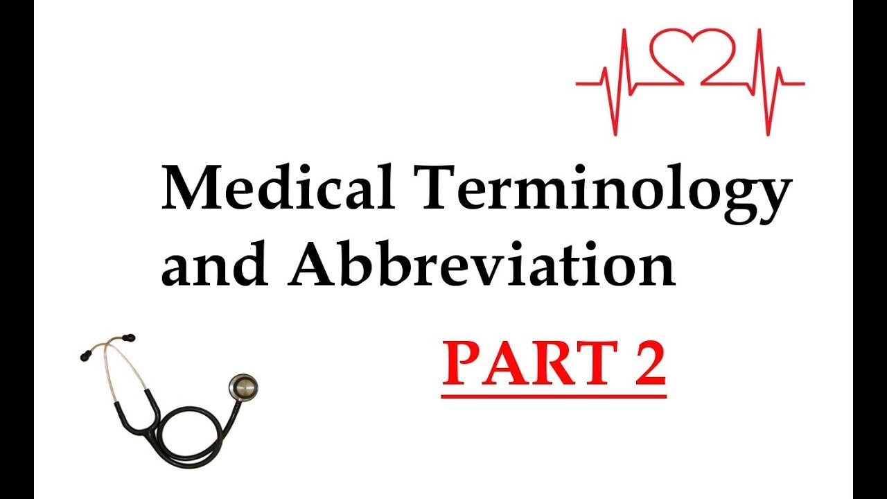 Medical Abbreviations And Pocket Edition 2 By Symbols Pdf As Well Circuit Vyturelis Electronic Common Terms Part Youtube