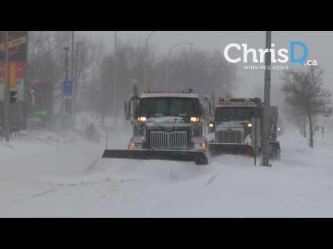 Winnipeg Snowstorm - December 26, 2016 - Winnipeg, Manitoba